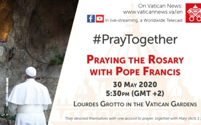 Modlitwa różańcowa z papieżem
